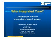 Why Integrated Care? - Julius Centrum Integrated Care > Home