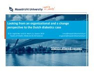 Looking from an organizational and a change perspective to the ...