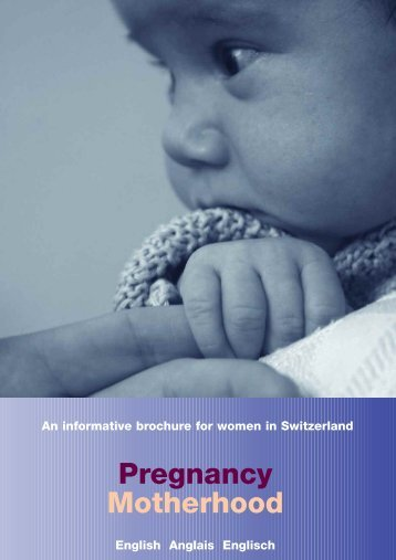 Pregnancy Motherhood - Schweizerischer Hebammenverband