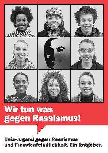 Wir tun was gegen Rassismus!