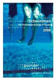 Schwimmen - Integration BS/BL