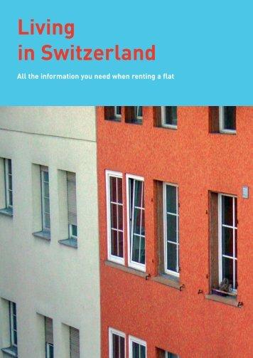 Renting a flat - Bundesamt für Wohnungswesen BWO - CH