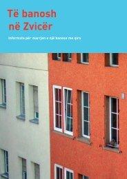 Të banosh në Zvicër - Bundesamt für Wohnungswesen BWO - CH