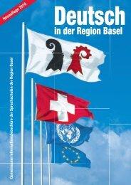 Deutsch in der Region Basel - Integration BS/BL
