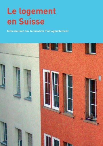 Le logement en Suisse - Bundesamt für Wohnungswesen BWO - CH