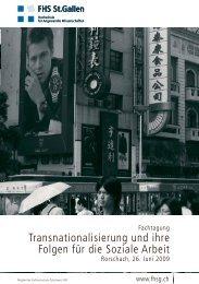 Transnationalisierung und ihre Folgen für die ... - Integration BS/BL