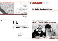 Basel Module Basisbildung - Integration BS/BL