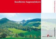 Baselbieter Augenzwinkern - Baselland Tourismus
