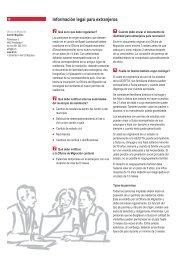 Información legal para extranjeros - Integration BS/BL