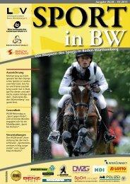 Märzausgabe von Sport in BW - Landessportverband Baden ...