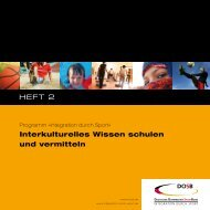 Interkulturelles Wissen - Integration durch Sport