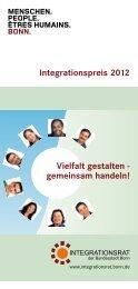 Integrationspreis 2012 - Integration in Bonn