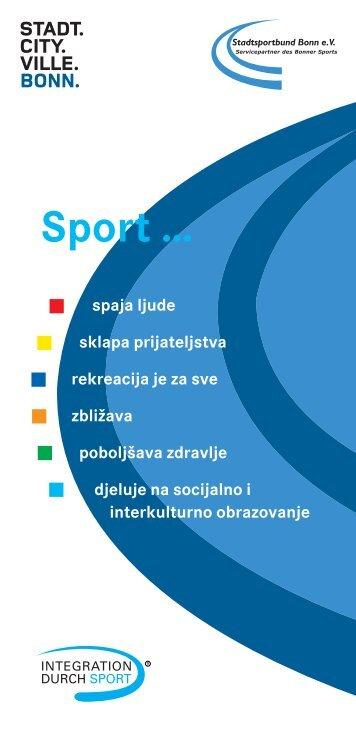 Sport … - Integration in Bonn