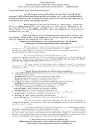 1.Regionalkonferenz Bergisches Land für Afrikanische Vereine und ...