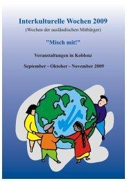 Interkulturelle Wochen 2009 - Der Beirat für Migration und ...