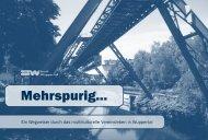 Broschüre Mehrspurig - Integration in Wuppertal