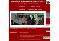 erfurter verbundprojekt—evp ii - Integration und Migration in Thüringen