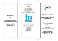 Muster_ Flyer - Integration und Migration in Thüringen
