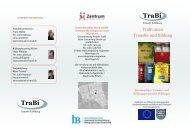 TraBi TraBi - Integration und Migration in Thüringen