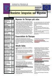 Newsletter Nr. 9 vom Dezember 2007 - Integration und Migration in ...