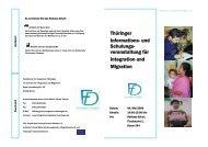 Thüringer Informations - Integration und Migration in Thüringen