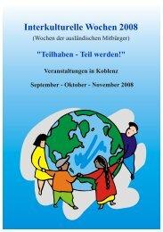Programm Interkulturelle Wochen-2008.cdr - Der Beirat für Migration ...