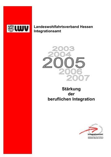 Stärkung der beruflichen Integration - Integrationsamt