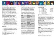 Ziele und Inhalte Zielgruppe Konzeption Rahmenbedingungen - Ajs