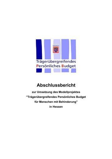 Abschlussbericht der hessischen Umsetzung - Integrationsamt