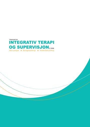 Utgave 2/2008 - Norsk Forening for Integrativ Terapi