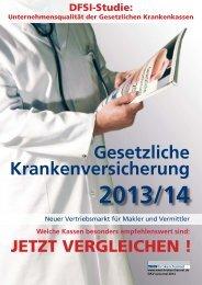 Unternehmensqualität Gesetzliche Krankenversicherung 2013/14 - das eJournal