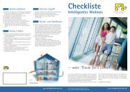 Checkliste Intelligentes Wohnen - GNI