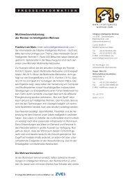 Pressemitteilung des ZVEI als PDF - Intelligentes Wohnen