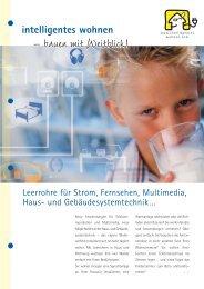 Broschüre zum Download - Intelligentes Wohnen