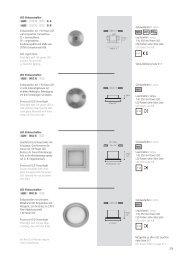 LED Einbaustrahler Einbaustrahler mit schmalem ... - Inter-lux