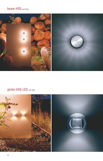 globe-HID-LED_wall light - Inter-lux