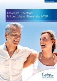 Broschüre Private Renten