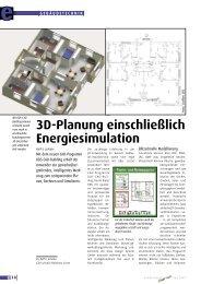 3D-Planung einschließlich Energiesimulation