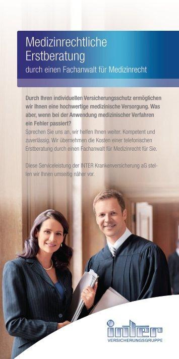 Medizinrechtliche Erstberatung durch einen Fachanwalt für ... - Inter