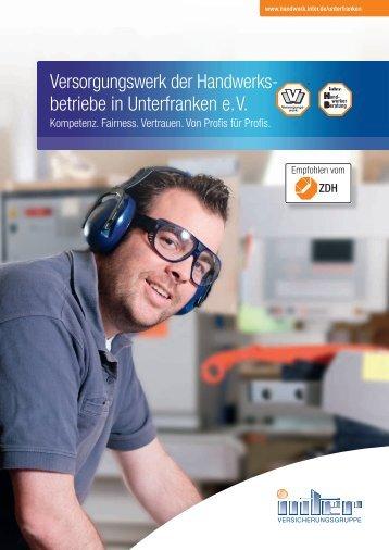 Broschüre Unterfranken - Inter