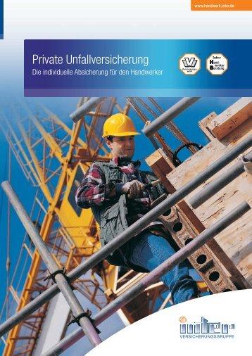 Die individuelle Absicherung für den Handwerker - Inter