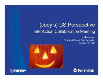 (Judy's) US Perspective - Interactions.org