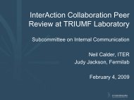 Subcommittee on Internal Communication - Interactions.org