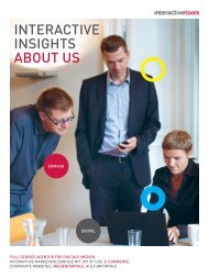 Imagebroschüre | PDF - 1.54 MB - interactive tools GmbH