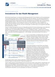 Innovationen für das Wealth Management - Interactive Data