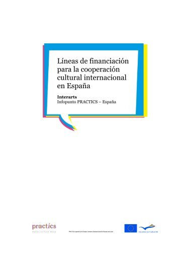 Líneas de financiación para la cooperación cultural ... - On the Move