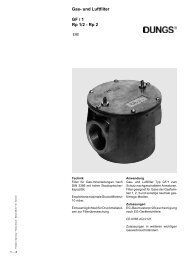 Gas- und Luftfilter GF / 1 Rp 1/2 - Rp 2 - Intercal