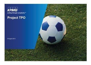 KPMG TPO Report
