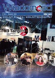 Wiadomości 8/2003 - Inter Cars SA