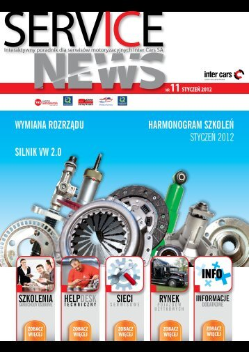 SERVICE NEWS nr11/styczen 2012 - Inter Cars SA